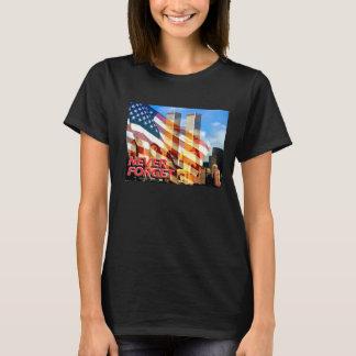 Erinnern Sie sich die an Terroranschläge am 11. T-Shirt