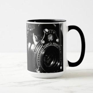 Erinnerungen eine Vintage Kodak-Faltenkamera Tasse