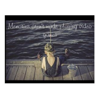 Erinnerungens-Postkarte Postkarte