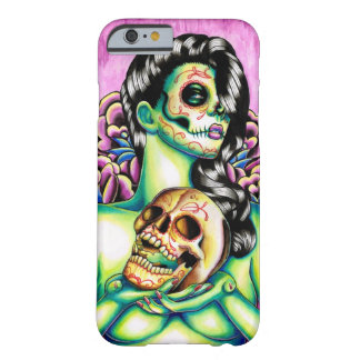 Erinnerungens-Tag des toten Zuckerschädel-Mädchens Barely There iPhone 6 Hülle