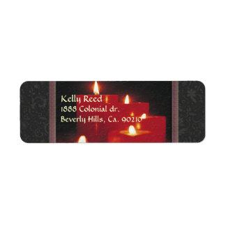 Erinnerungs-Kerzen u. Reben