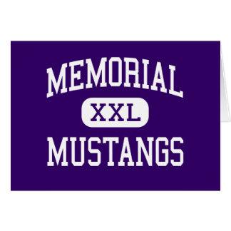 Erinnerungs- Mustangs - Jüngeres - Lansing Karte