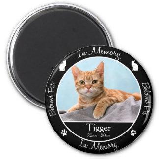 Erinnerungs- Verlust der Katze - Runder Magnet 5,1 Cm