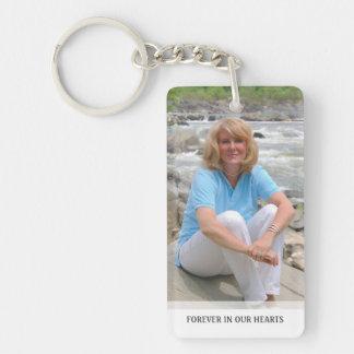 Erinnerungs- Weiß-Rückseite - spezielle Schlüsselanhänger