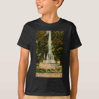 Erinnerungsbrunnen, Central Park, Lansing, T-Shirt