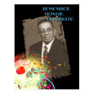 Erinnerungsfeier dia de Los Muertos (Hifi) Postkarte