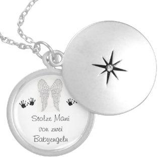 Erinnerungskette Sternenzwillinge Medaillon