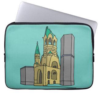Erinnerungskirche Berlin (Gedächtniskirche) Laptopschutzhülle