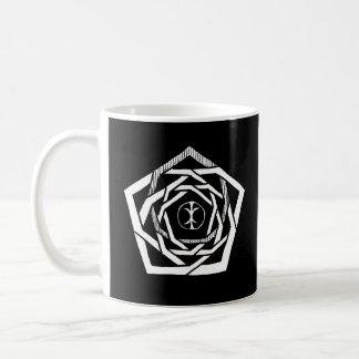 Erisian Mandala-Rückseite Kaffeetasse