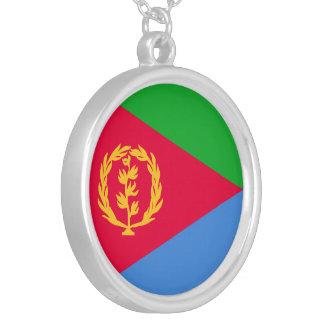 Eritrea-Flagge Halskette Mit Rundem Anhänger