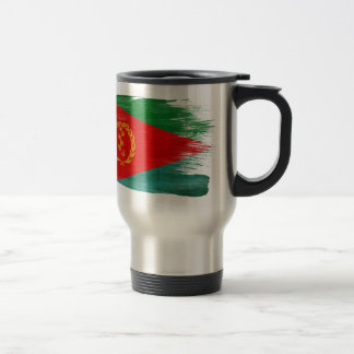 Eritrea-Flagge Reisebecher