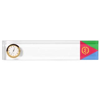 Eritrea-Flagge Schreibtischplakette