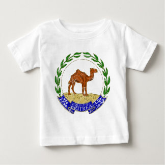 Eritrea-Wappen Baby T-shirt