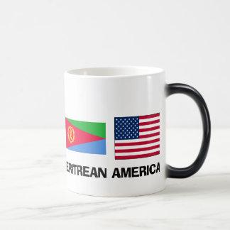Eritreischer Amerikaner Verwandlungstasse