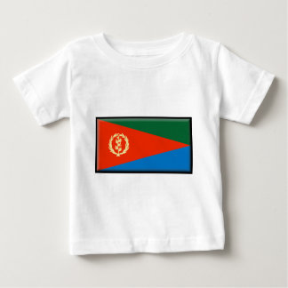 Eritria Flagge Baby T-shirt
