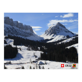 Eriz, Bernese Oberland, die Schweiz Postkarte
