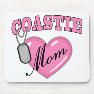 Erkennungsmarke des Küstenwache-Mamma-Herz-N Mousepad