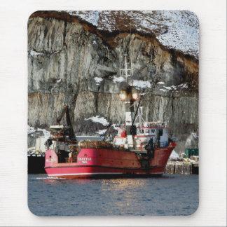 Erla-n, Krabben-Boot im niederländischen Hafen, Mousepad