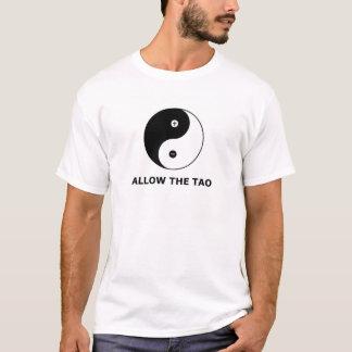 Erlauben Sie den Tao auf Licht T-Shirt