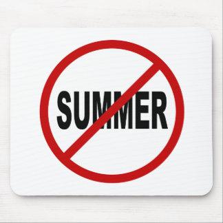Erlaubte Zeichen-Aussage des Hass-Sunner/No Sommer Mousepad