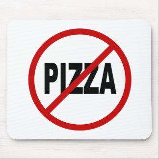 Erlaubte Zeichen-Aussage Hass-Pizza-/No Pizza Mousepad