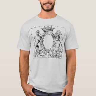 Erleuchtete Panther-Spiegel-Asche T-Shirt
