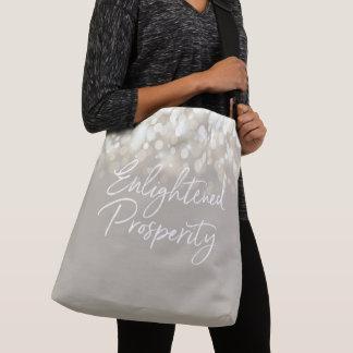 Erleuchteter Wohlstand ganz über Druck-Tasche Tragetaschen Mit Langen Trägern