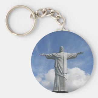 Erlöses Chr. RIO DE JANEIRO Standard Runder Schlüsselanhänger