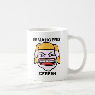 Ermahgerd Cerfer Kaffeetasse