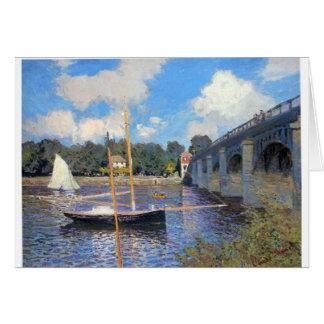ERMITTELT NICHT durch Claude Monet Karte