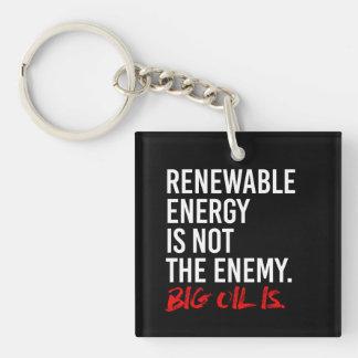 ERNEUERBARE ENERGIE IST NICHT der FEIND - - Schlüsselanhänger