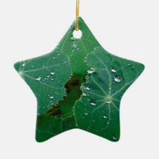Erneuernregen-Tropfen Keramik Ornament