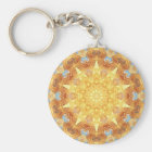 Erneuerungs-Mandala Keychain Schlüsselanhänger