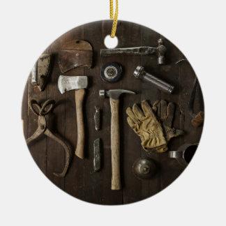 Erneuerungs-themenorientierte, hölzerne keramik ornament