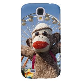 Ernie der Socken-Affe iPhone 3 Speck-Kasten Galaxy S4 Hülle