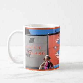 Ernie die Socken-Affe-Detroitconey-Dilemma-Tasse Kaffeetasse