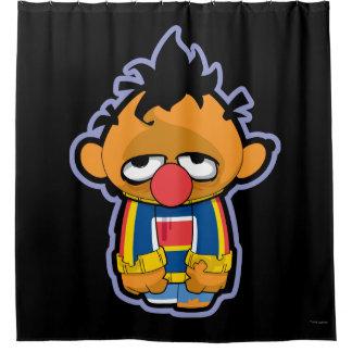 Ernie Zombie Duschvorhang