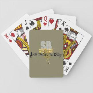 """Ernste Geschäfts-Unterhaltung """"alle bearbeiten Pokerkarten"""