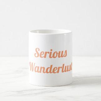 Ernste Wanderlust-Tasse Kaffeetasse