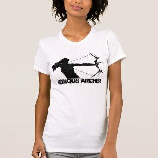 Ernster Bogenschießen-T - Shirt