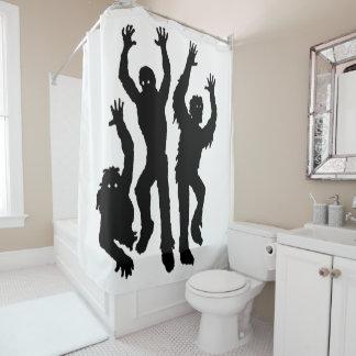 Ernster Raupen-Duschvorhang Duschvorhang