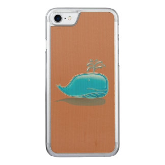Ernster Wal Carved iPhone 8/7 Hülle
