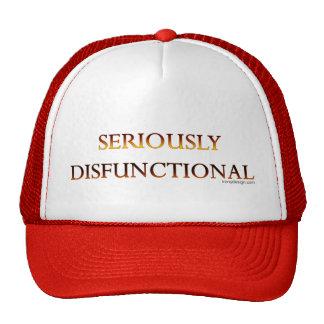 Ernsthaft dysfunktionelle Hüte Baseballcap