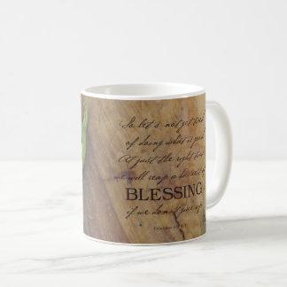 Ernte der Segen-Tasse Kaffeetasse