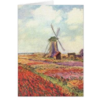 Ernte-Felder - Monet Karte