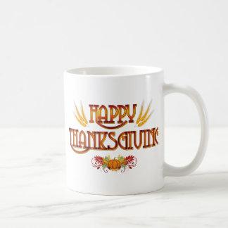Ernte-glücklicher Erntedank Kaffeetasse