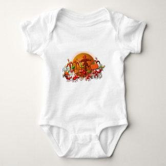 Ernteameisen Baby Strampler