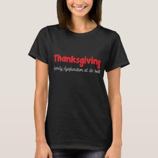 Erntedank: Familien-Funktionsstörung an seinem T-Shirt