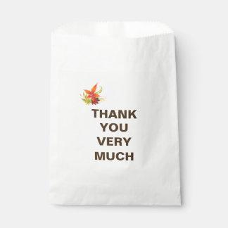 Erntedank-Feiertags-Leckerei-Tasche Geschenktütchen