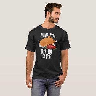 Erntedank-Fest-Zeit, die Preiselbeersoße zu T-Shirt